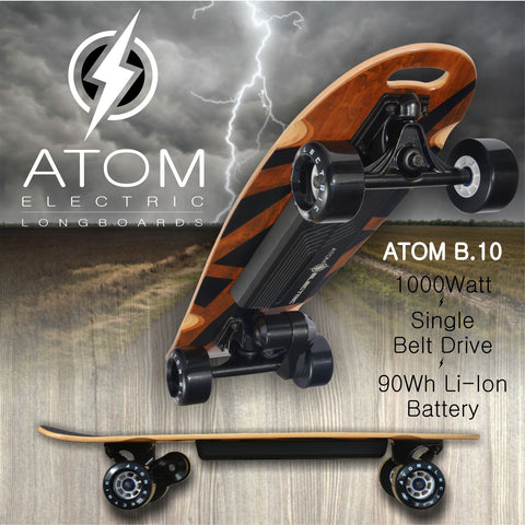 atom electric longboard b.10 really good electric bikes