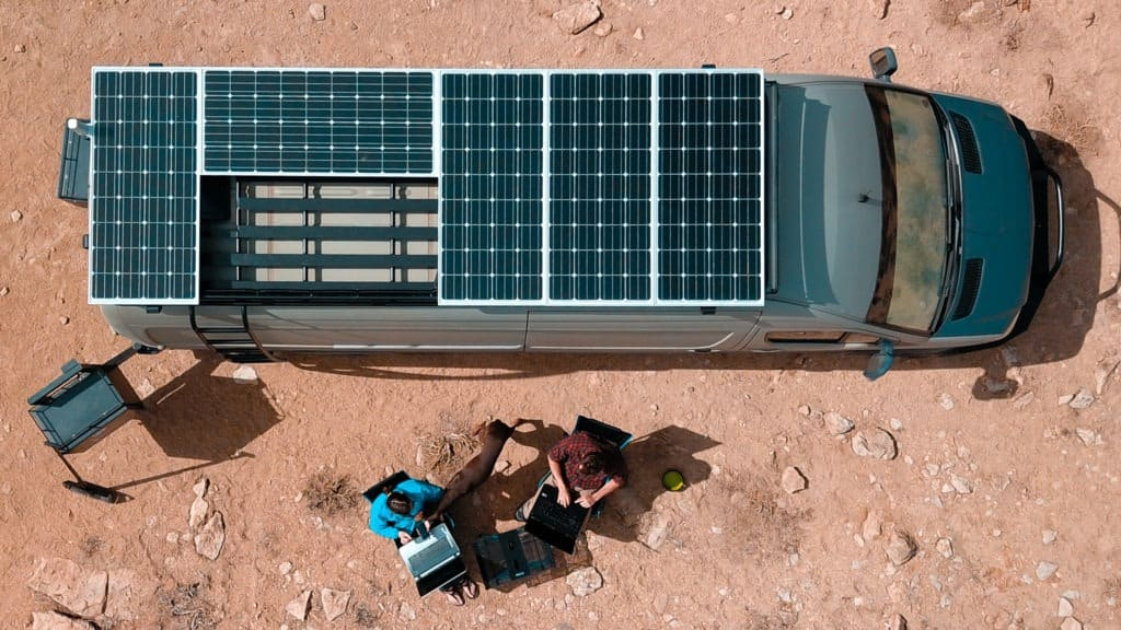 camper van solar power