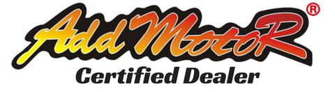 addmotor authorized dealer logo for really good electric bikes
