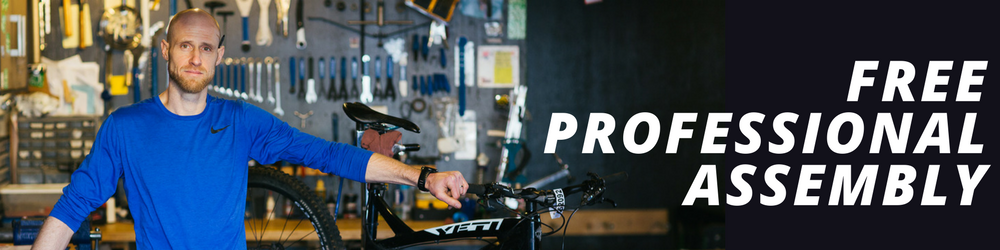 FREE PROFESSIONAL ASSEMBLY ONLY AT REALLY GOOD EBIKES