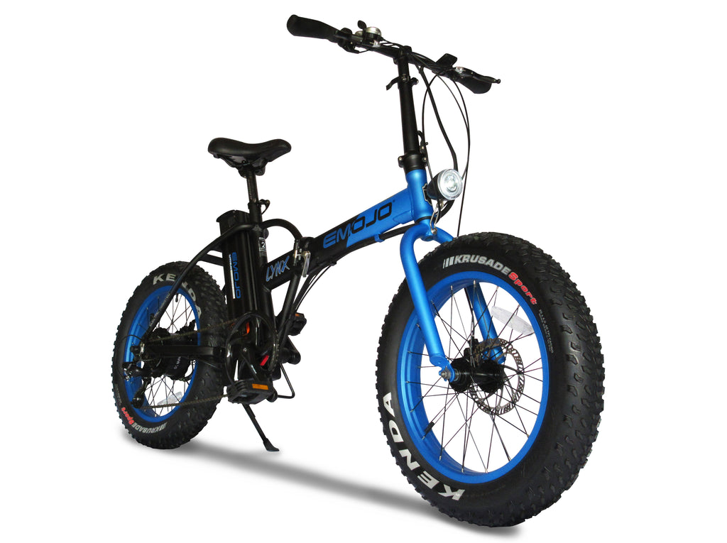 emojo lynx folding electric fat bike