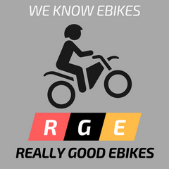 REALLY GOOD EBIKES LOGO - WE KNOW EBIKES