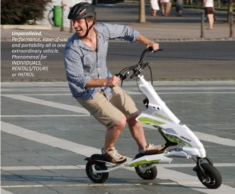 trikke electric carving scooter