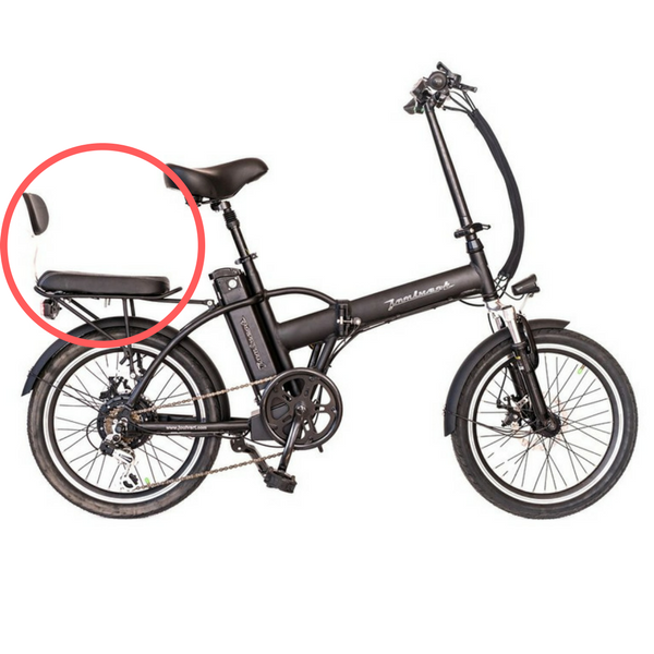 joulvert playa electric bike buddy rear seat