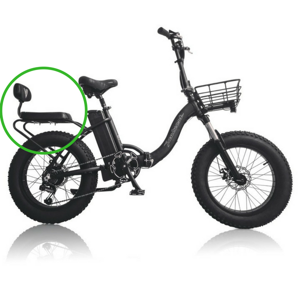 joulvert voyager electric bike buddy seat