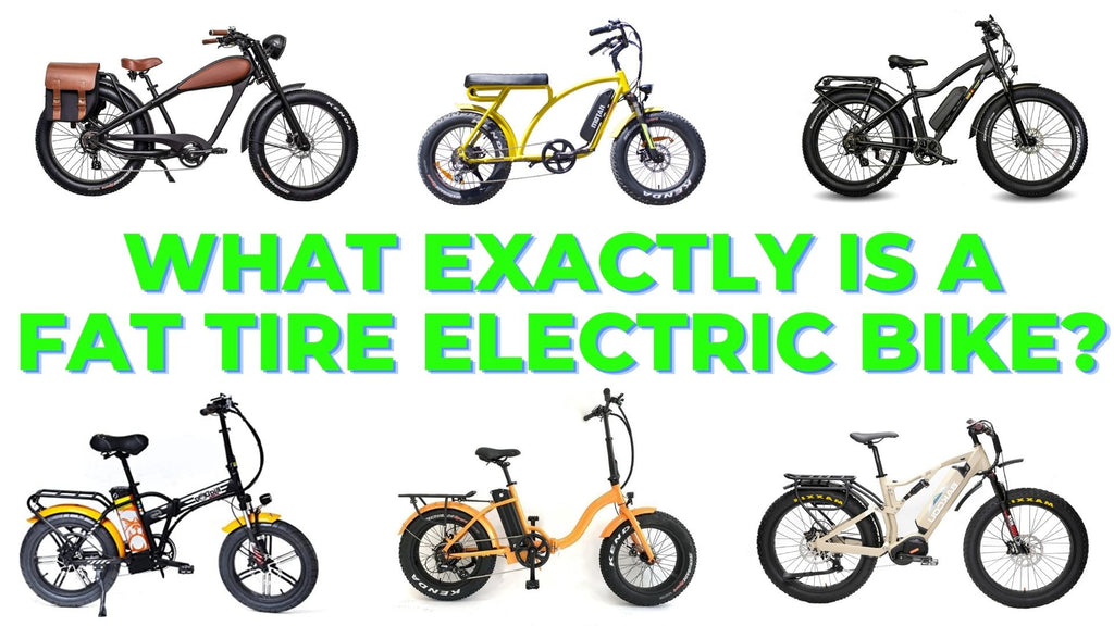 what exactly is a fat tire electric bike?