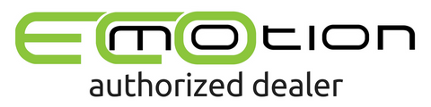 ecomotion bikes authorized dealer logo for really good ebikes