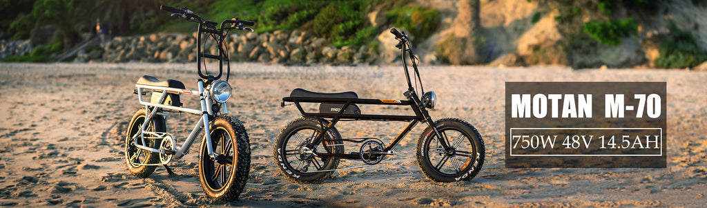 addmotor motan m-70 r7 fat tire electric bike two models outside