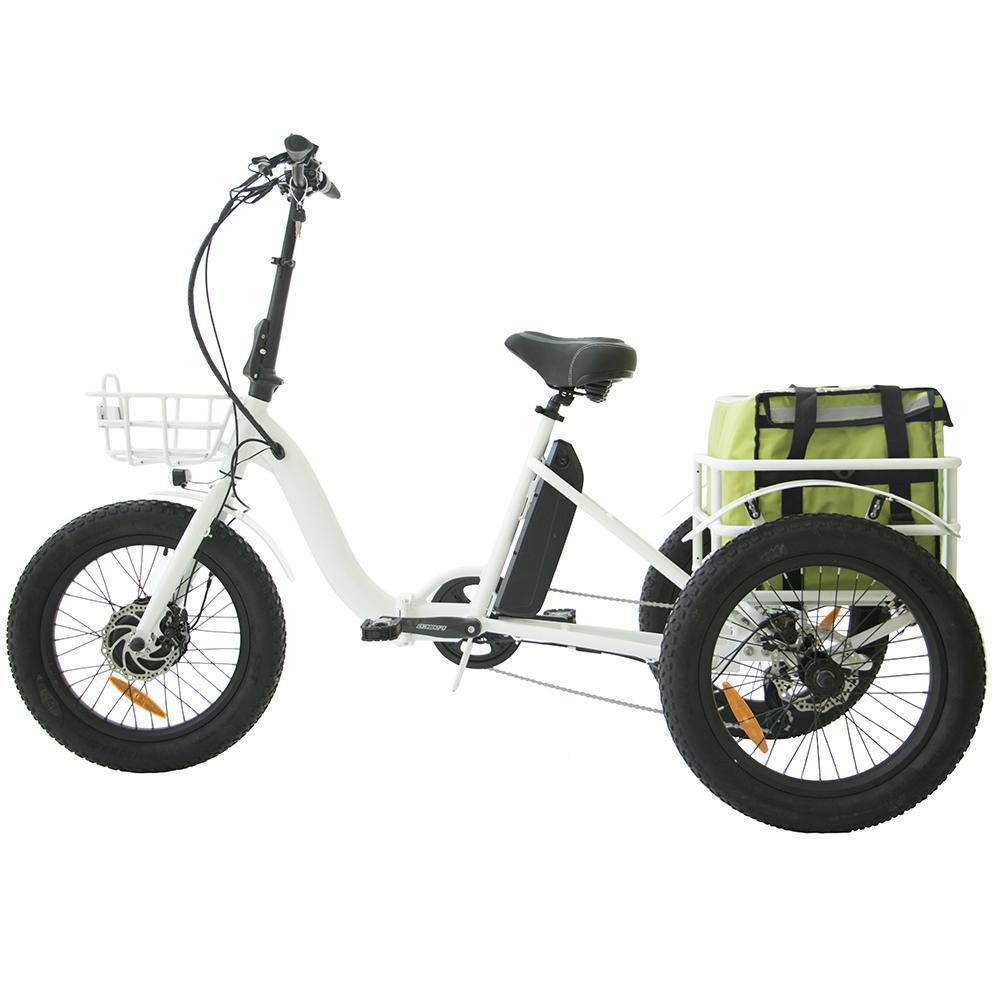 eunorau fat tire folding electric trike