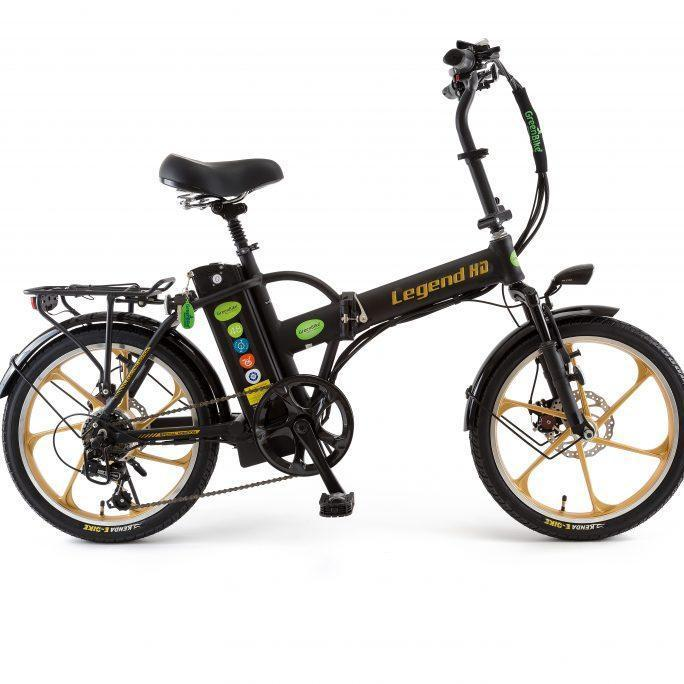 green bike legend hd folding ebike