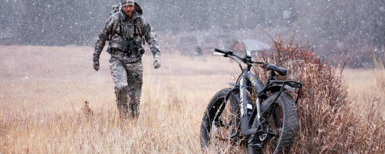 hunting mountain bike with fat tires