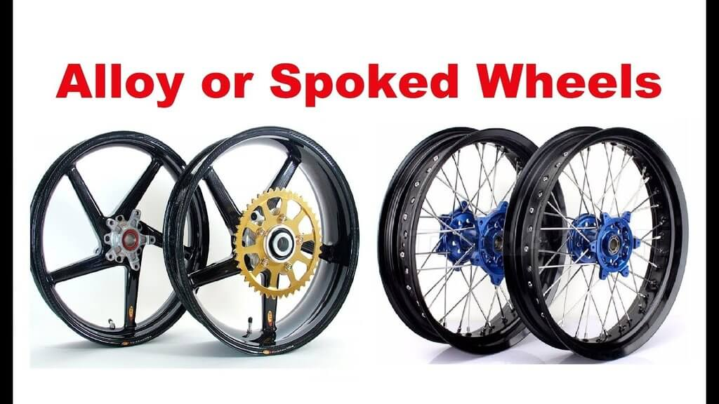 magnesium alloy and spoked bike wheels