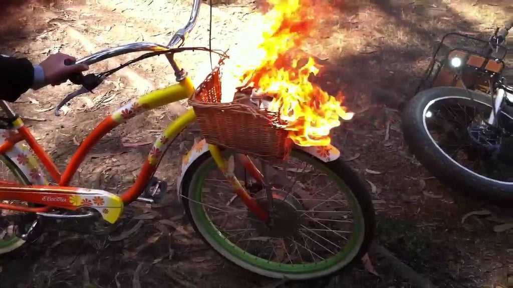 ebike battery fire