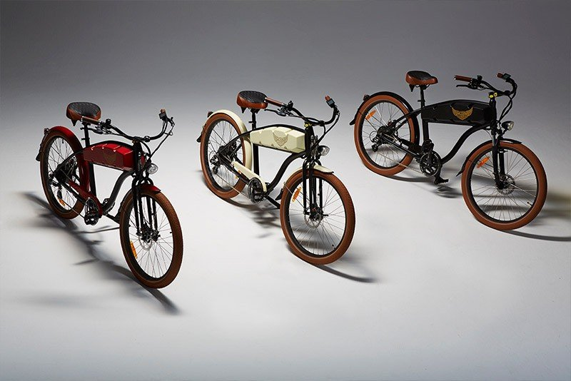 ariel bikes n-class ebikes three in a row