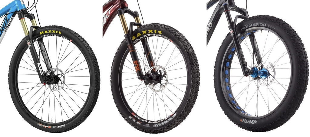 electric bike tire widths