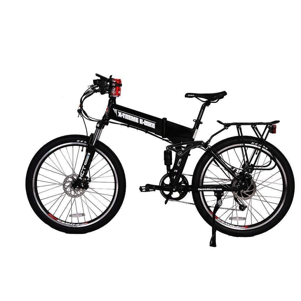 x-treme baja folding electric bike