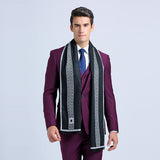luxury brand designer Men Classic Winter Warm Soft Scarf