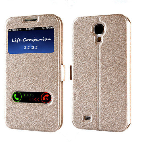 PU Leather Phone Bags with Stand Function Galaxy  S3 S4 S5 S6