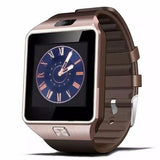 Smart Watch Touch Screen Bluetooth Supports SIM Card Phone Camera GSM/TF Men Wristwatch for IOS and Android