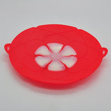 "Kitchen Gadgets Silicone Lid Spill Stopper Pot Cover 11 1/5"" Diameter Cooking Pot Lids Utensil"
