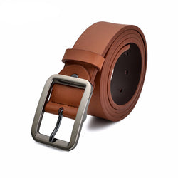 Genuine Leather Belts For Men High Quality Pin Buckle