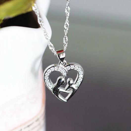 925 Sterling Silver Fashion Necklaces For Women Girls