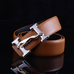 Genuine Luxury Leather Belt For & Men High Quality H Buckle