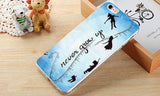 Peter Pan Never Grow Up Phone Case For iPhone.