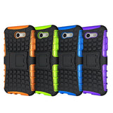 Heavy Duty Armor Shockproof Back Cover For Samsung Galaxy