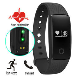 Fitness Wireless Heart Rate Smart Watch Tracker For Android iOS