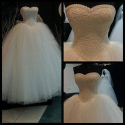Luxury Ball Gown Style Wedding Gown