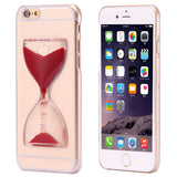 Cute Crystal Clear Dynamic Liquid Glitter Sand Quicksand Case For iPhone 6 6S iPhone 6 Plus 6S Plus