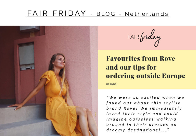 ROVE's Feature Article by FAIR FRIDAY