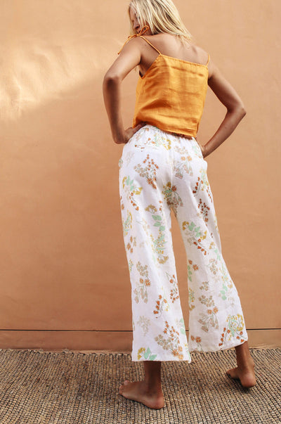 ACACIA Pants - wildflower linen