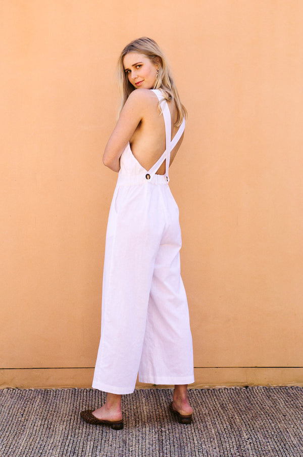 VOYAGE Jumpsuit - off-white