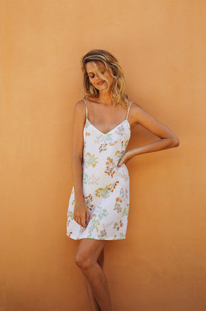 WATTLE Dress - wildflower linen