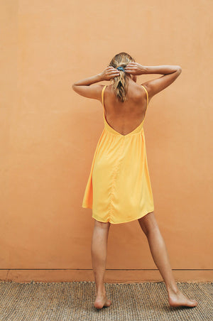 ENDLESS SUMMER Dress - yellow