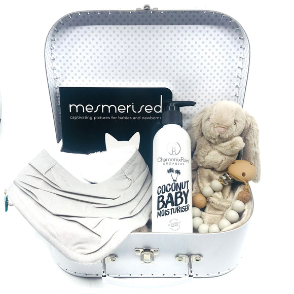 White Daylight Baby Keepsake Gift Set - Medium