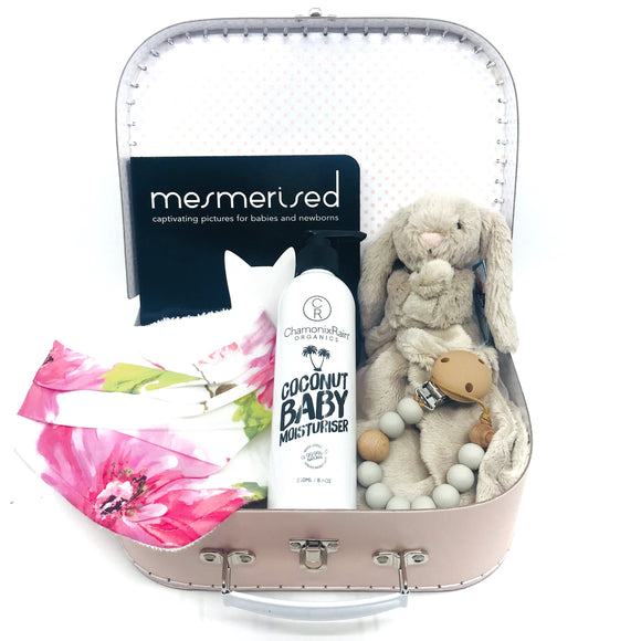 Pink Horizons Baby Keepsake Gift Set - Medium