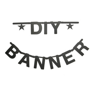 OMM DESIGN DIY WORD BANNER - BLACK