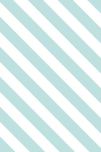 ZILVERBLAUW WALLPAPER TIFFANY BLUE STRIPE