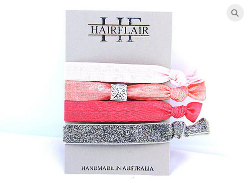 Hair Flair Bling Ties - Deco