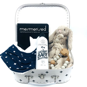 Stars and Crosses Baby Keepsake Gift Set - Medium