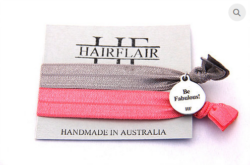 HAIR FLAIR CHARM TIE - BE FABULOUS!