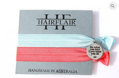 Hair Flair Charm Tie - Do What You Love