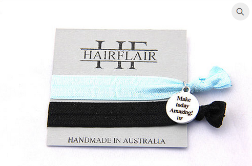 Hair Flair Charm Tie - Make Today Amazing
