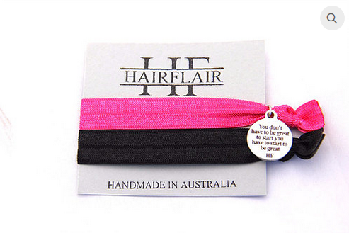 Hair Flair Charm Tie - You Don't Have To Be Great