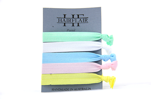 Hair Flair Colour Ties - Pastel