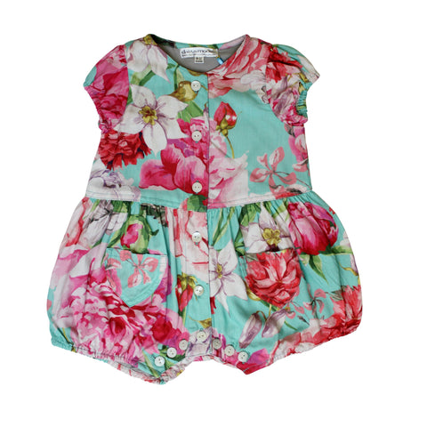 DAISY & MOOSE CARNATION BALLOON PLAYSUIT