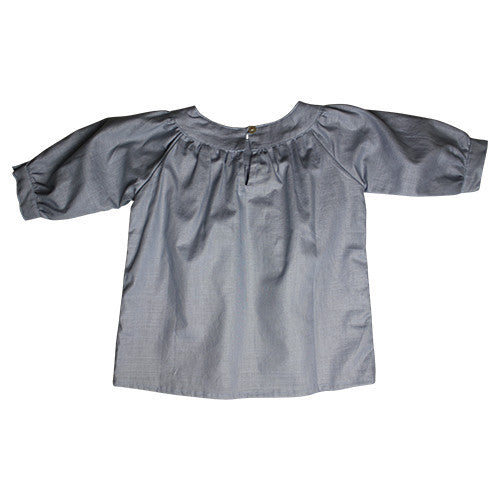 DAISY & MOOSE DUCK EGG ROUNDNECK TOP